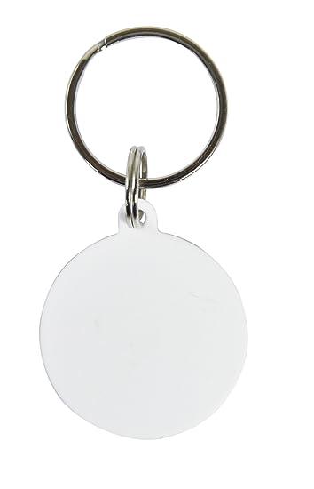 Amazon.com: 10 pcs. Blanco en blanco redondo de polímero ...
