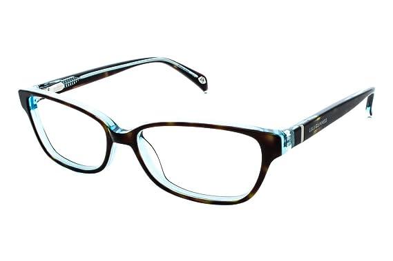 b02db7b9fe Amazon.com  Lulu Guinness Women s Optical Eyeglasses L865 Tortoise ...