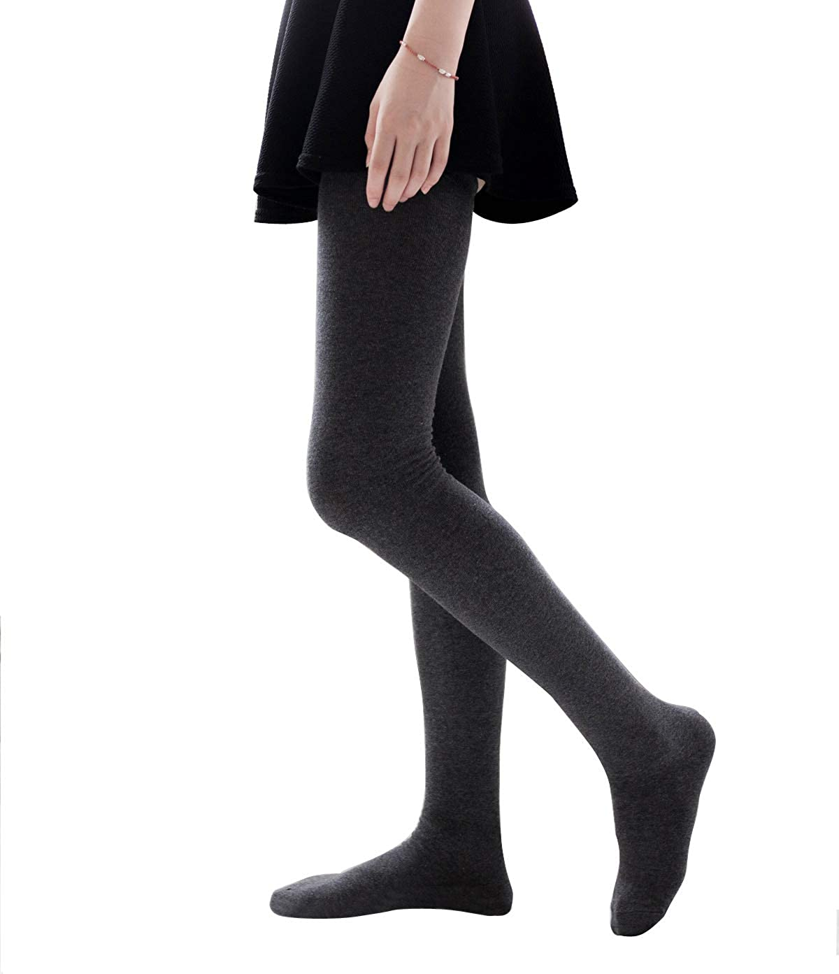 Women Soft Over Knee Extra Long Boot Knit Socks Thigh High Warm Striped Stocking