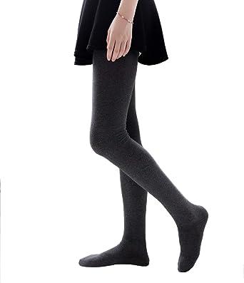 Women Fashion Over The Knee High Socks Women/'s Winter Warm Cotton Stockings US