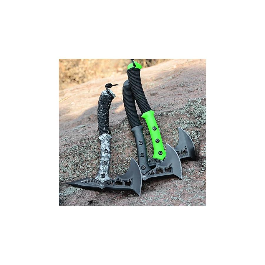CIMA Tactical Tomahawk Tactical Survival Hunting Camping Axe, Nylon Glass Fiber Handle/Nylon Sheath
