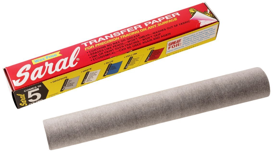 Saral Transfer paper - 12 Foot Rolls, Graphite - 2 Pack Saral Paper Corp 4336943385