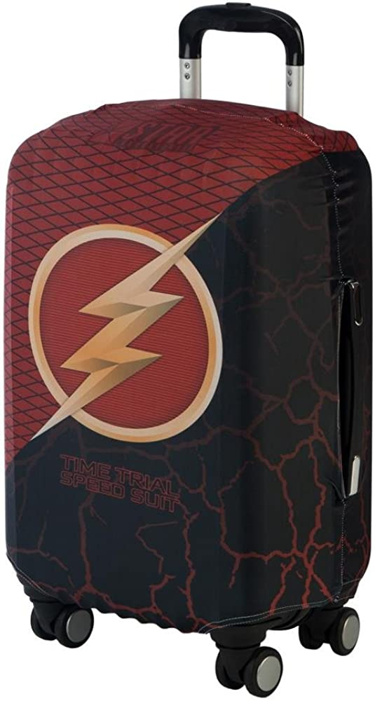 Flash Luggage Cover DC Comic Luggage Cover - Flash Accessories SC Luggage Cover - Flash Gift