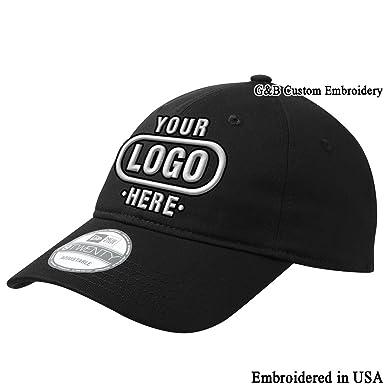 New Era 9twenty Adjustable Structured Custom Cap Embroidered Your