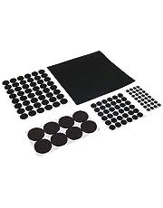 Fixman 969465 125 - Piece Self Adhesive Felt Pad Protectors - Black