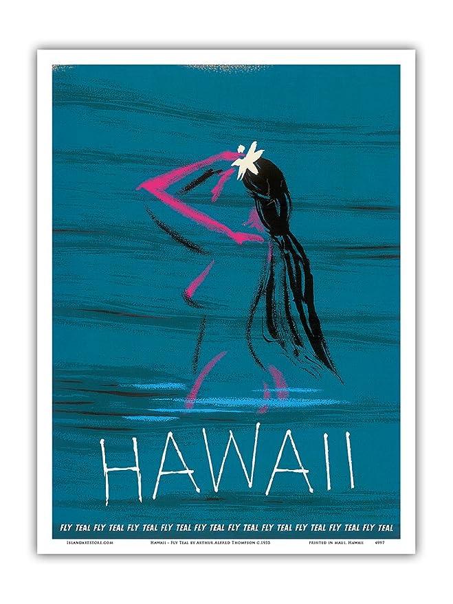 Pacifica Island Art Hawaii-Desnudo Chica Hawaiana de baño ...