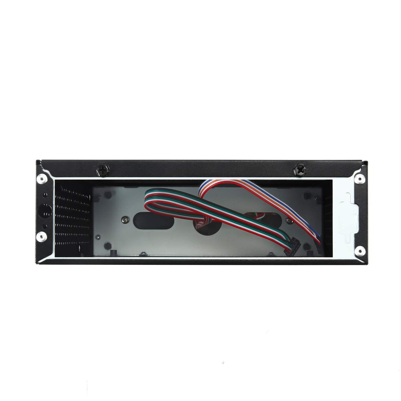 Goodisory 0.6mm SECC Mini ITX Black Chassis 03