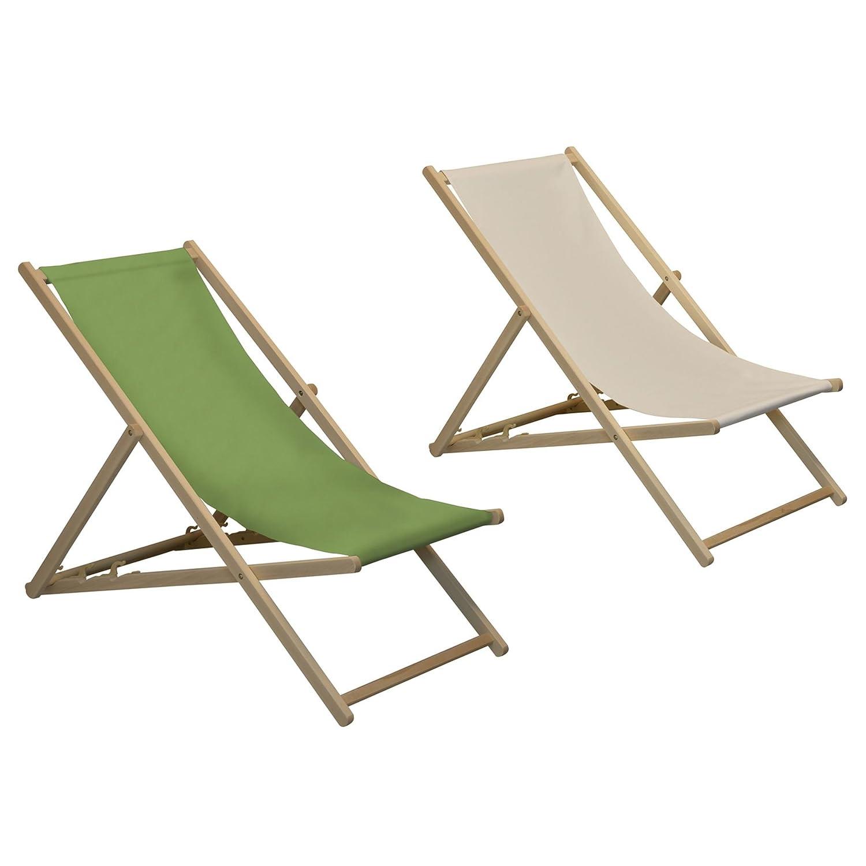 Harbour Housewares Tumbonas reclinables y Plegables - Ideales para ...