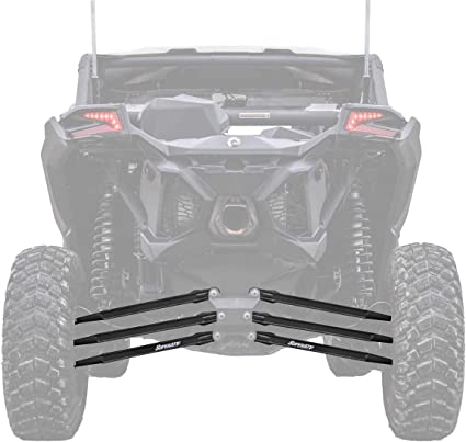 SuperATV!! Can-Am Maverick TURBO Rear Receiver Hitch **BLACK**