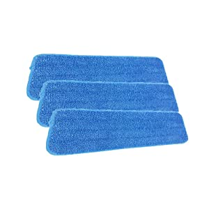 Reveal Mop Cleaning Pads Fit All Spray Mops & Reveal Mops Washable (3 Pack)