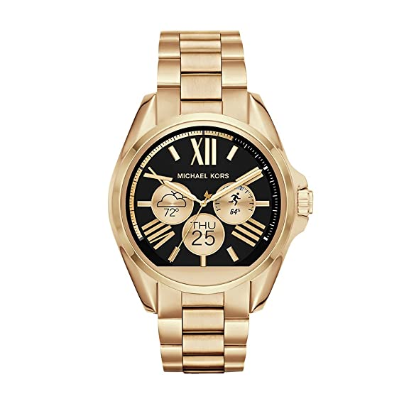 Michael Kors Access, Womens Smartwatch, Bradshaw Gold-Tone Stainless Steel, MKT5001