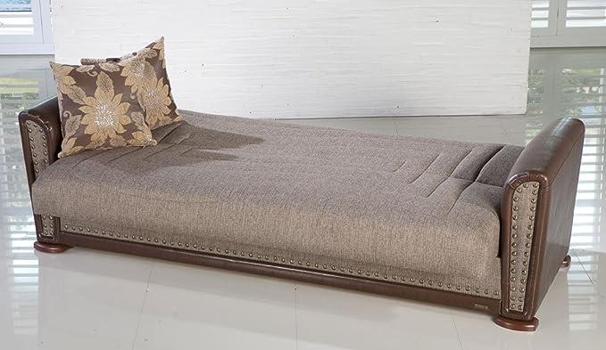Alfa Sofa Bed in Redeyef Brown