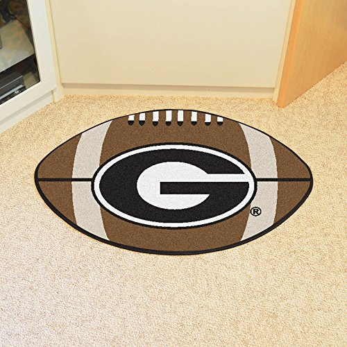 Georgia Bulldogs UGA Football Floor Rug Mat
