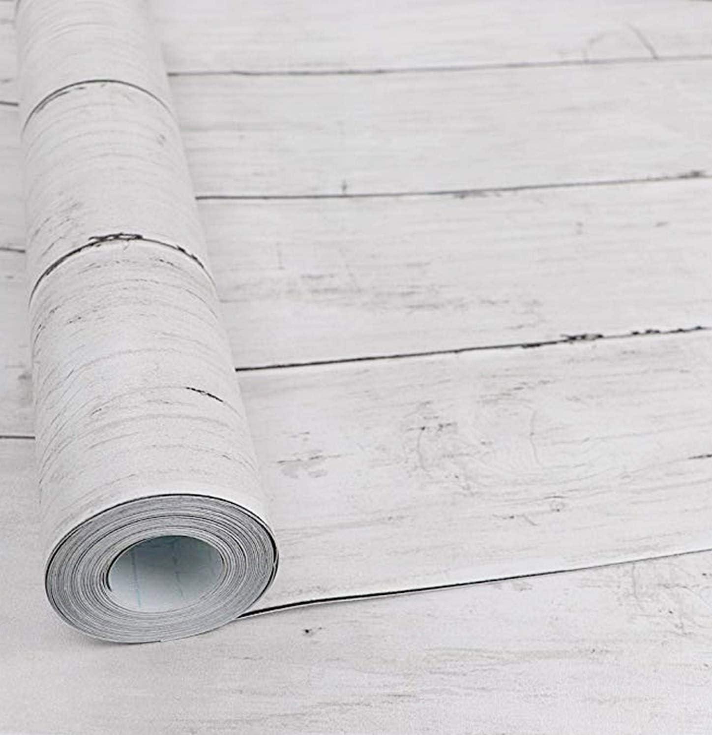 Amazon Isdy 壁紙 シール はがせる 壁紙 リメイク シート リフォーム ウォール ステッカー カッティング 幅45cm 長さ 10m 白 楓 木目 Diy 工具 ガーデン
