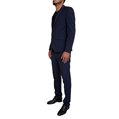 Traje GUESS by Marciano Hombre 71H810 1341ZGMB489 Blu - 46 ...