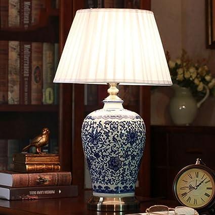 &Luz para Leer Lámparas de Mesa de cerámica - Lámparas de ...