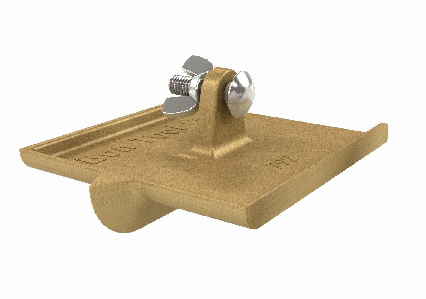 Bon 12-792 6-Inch by 4-1/2-Inch Bronze Walking Concrete Groover, 5/8-Inch Bit Depth, 5/8-Inch Bit Width