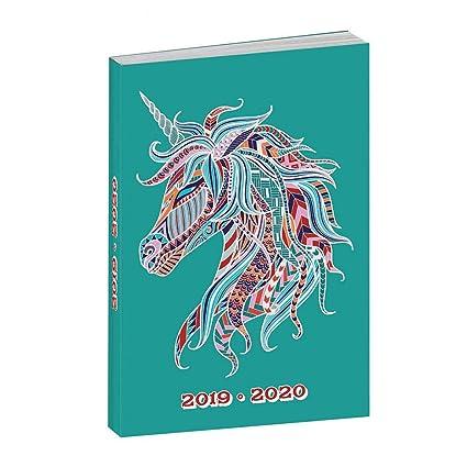 Agenda Anonym unicornio 2018 - 2019: Amazon.es: Oficina y ...