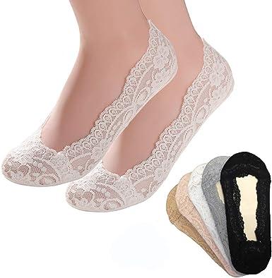 Non Slip Lace Invisible Boat Socks