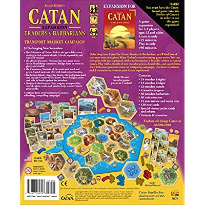 Catan Expansion: Traders & Barbarians: Toys & Games
