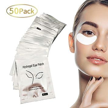 c8557befc88 Gel Pads for Eyelash Extensions - 50 Pairs of Under Eye Gel Pads Lash  Extension Supplies