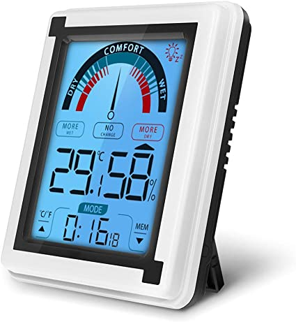 Digital display Termometro Misurazione METEO IGROMETRO Clima Ambiente Temperatura interna