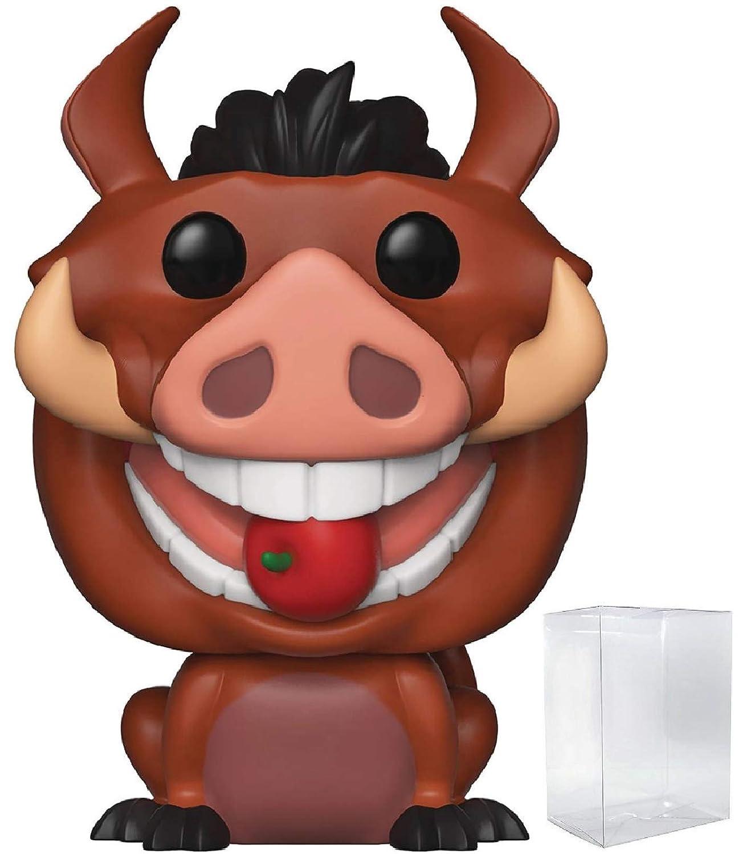 Luau Pumbaa Funko Pop Disney: The Lion King Includes Compatible Pop Box Protector Case Vinyl Figure