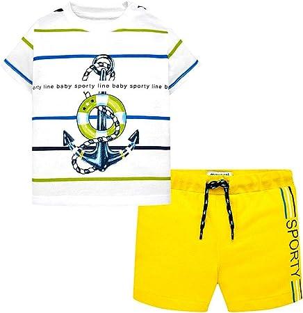 Mayoral Conjunto Bermuda + Camiseta niño