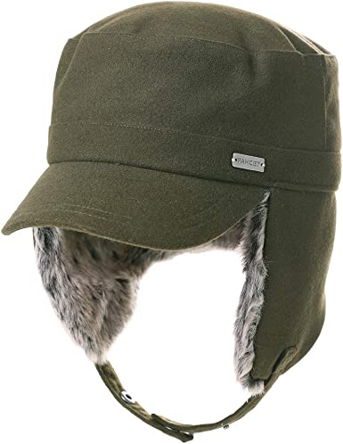 Field Combat Cap Hat Cold Weather Aviator Bomber Pilot Trapper Military Ear Flap