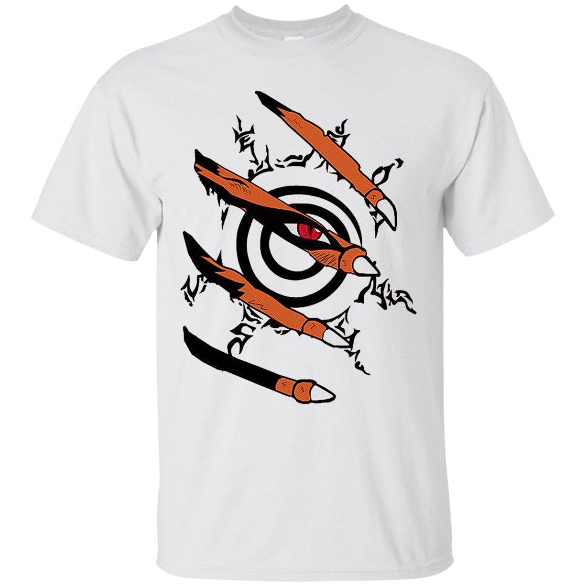 f377b6837 Amazon.com: Funny Naruto Apparel -Kurama Claw Naruto T-Shirt: Clothing