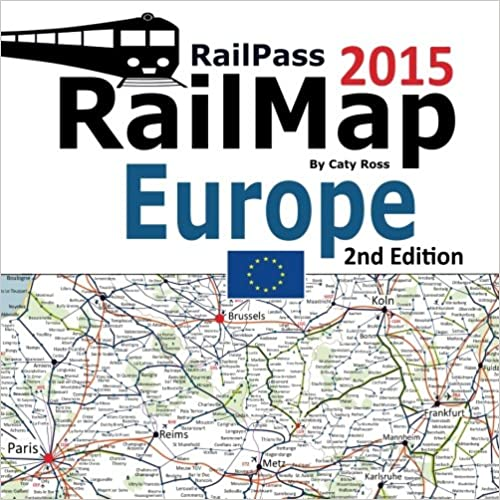 Book RailPass RailMap Europe 2015: Icon illustrated Railway Atlas of Europe, Turkey and Morocco ideal for interrail and Eurail pass holders