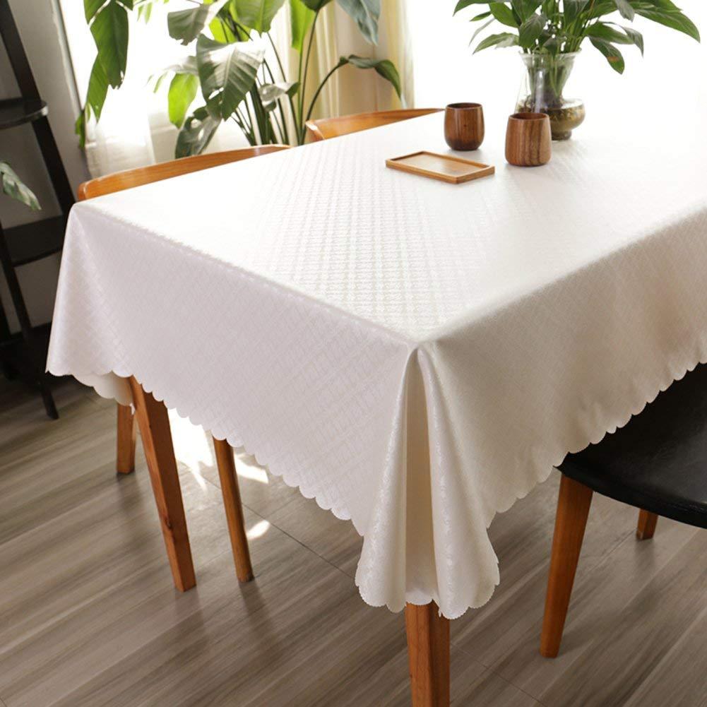 hasta un 65% de descuento C 140140cm WENYAO Square Tablecloth Waterproof Anti-Hot Oil-Proof Hotel Round Round Round Tablecloth Household Coffee tabtabcloth Computer Desk Cloth PU Fabric,C_140140cm  mas preferencial