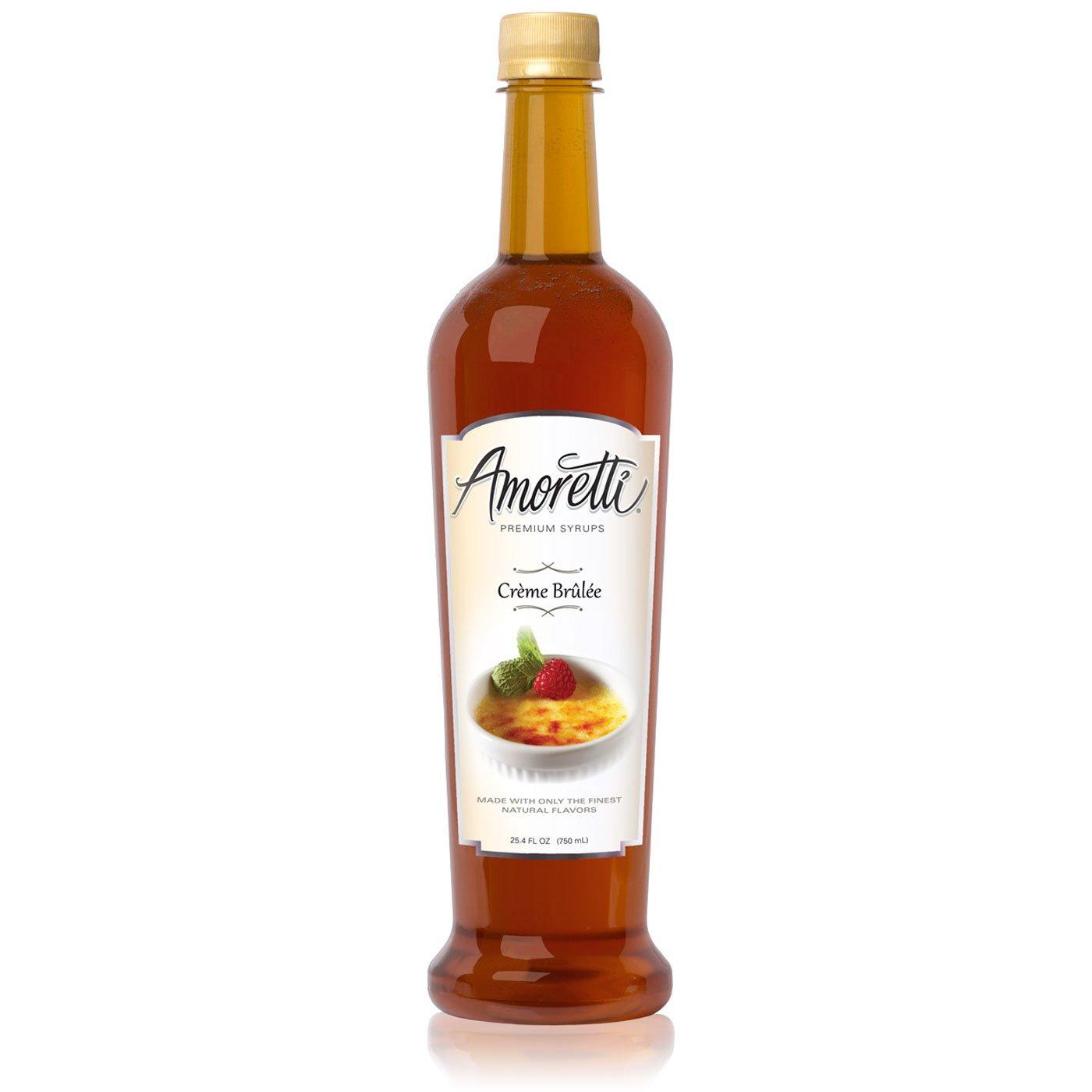 Amoretti Premium Syrup, Creme Brulee, 25.4 Ounce