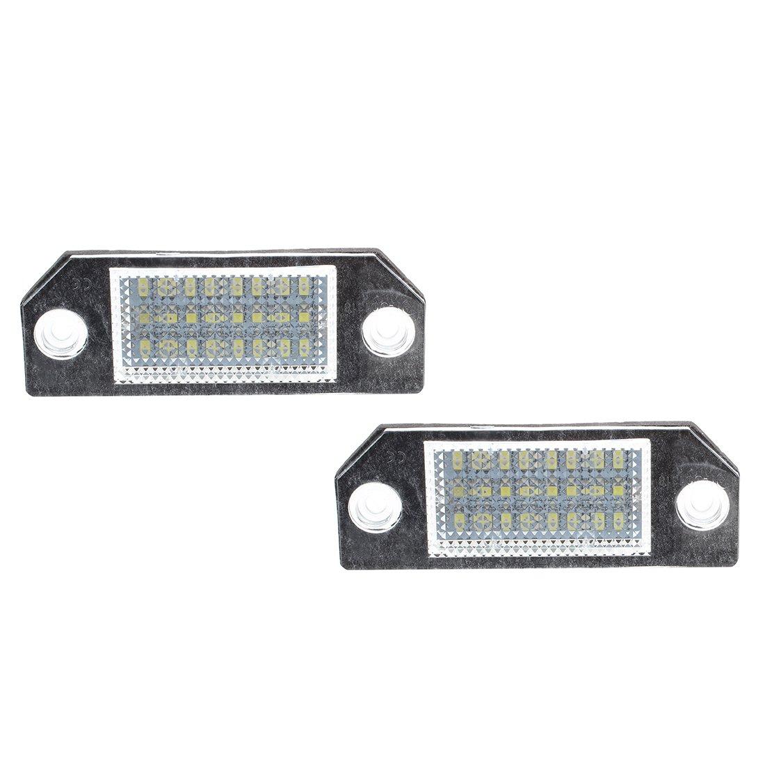 Sonline 22733 Coppia Luci Targa 24 LED Bianco