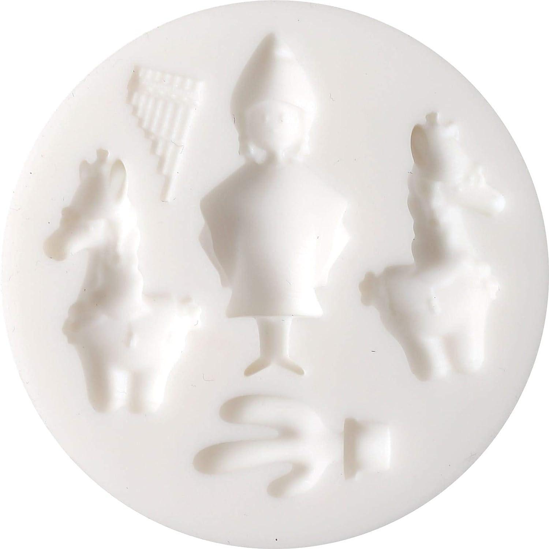 Graine Créative Mini Molde de Silicona para Arcilla polimérica ...
