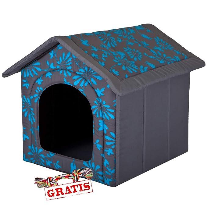 hobbydog budnkw6 + Ball gratis para perros Gato Cueva cama para perros Perros Casa Dormir Espacio para perros perro casa Caseta R1 de R4: Amazon.es: ...