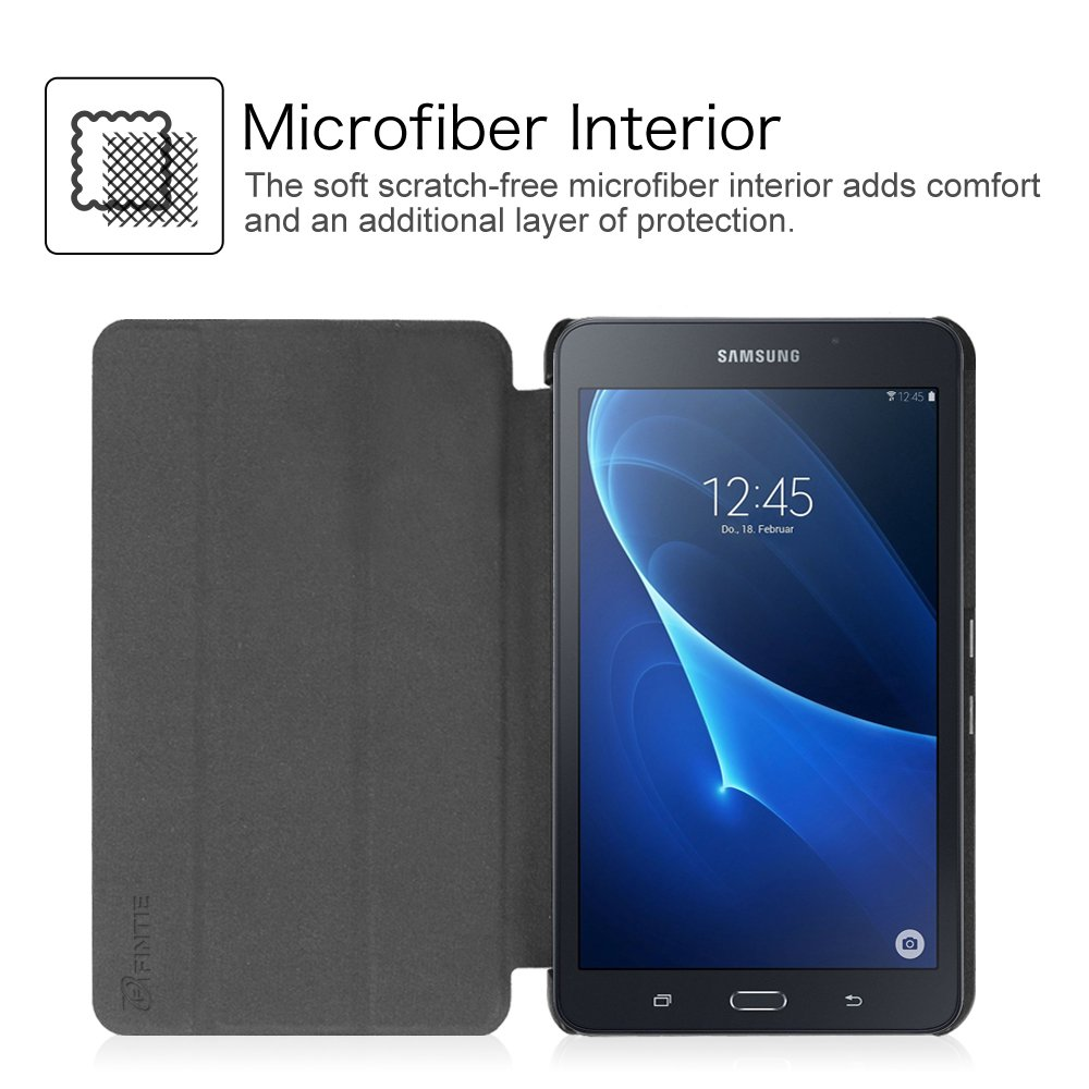 Amazon.com: Fintie Slim Shell Case for Samsung Galaxy Tab A 7.0 - Ultra Lightweight Protective Stand Cover for Samsung Galaxy Tab A 7-inch Tablet 2016 ...
