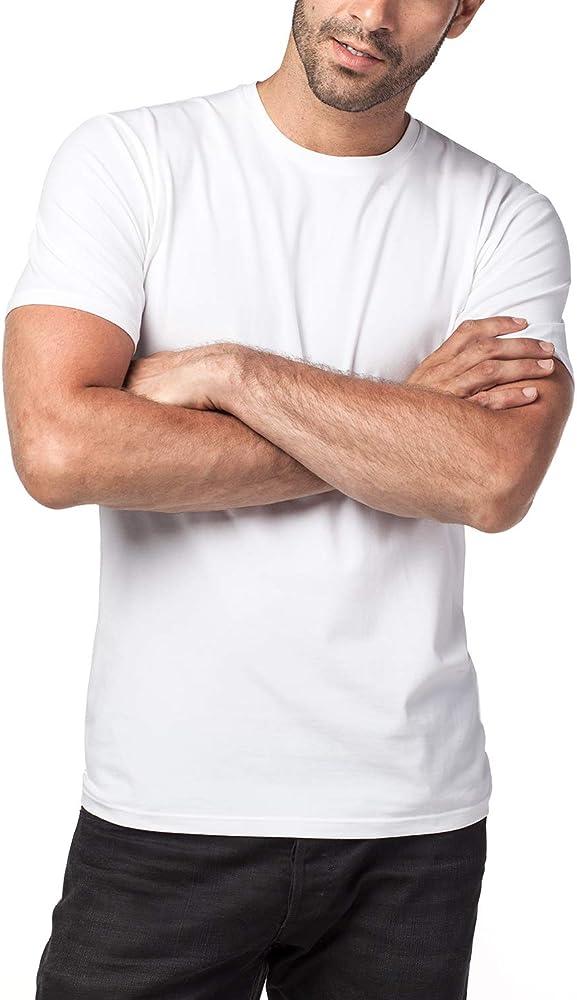 LAPASA Pack de 2 Camisetas Hombre de Algodón ELS Manga Corta ...
