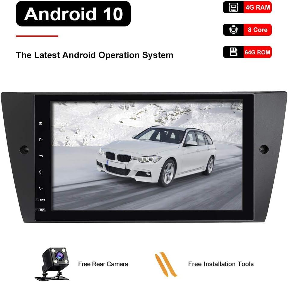 Booyes Für Bmw E90 E91 E92 E93 Android 10 0 Octa Core 4 Elektronik