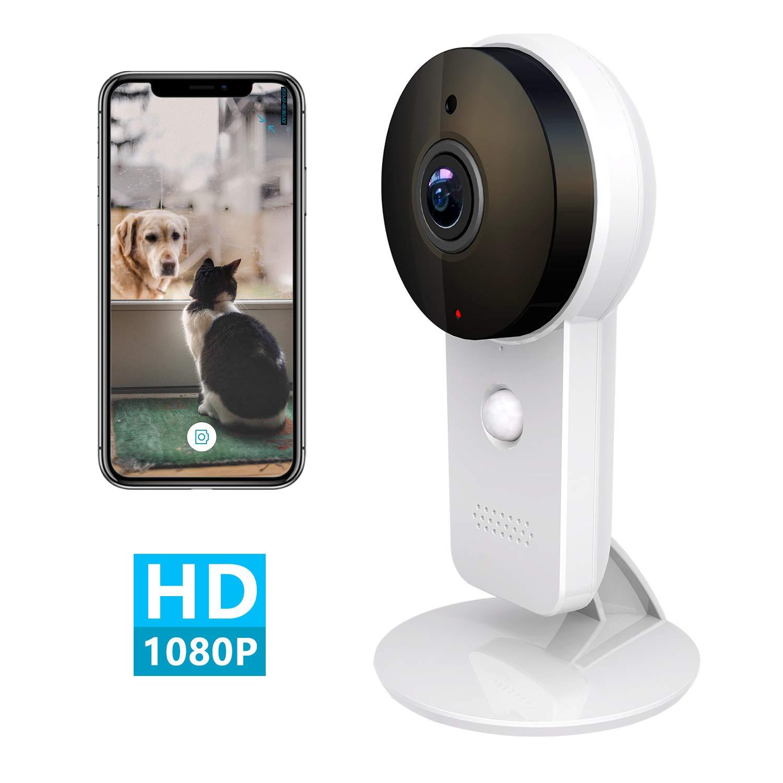 Amazon.com: Cámara IP de seguridad para interiores con ...