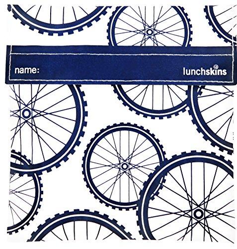 Lunchskins Reusable Quart Navy Blue product image
