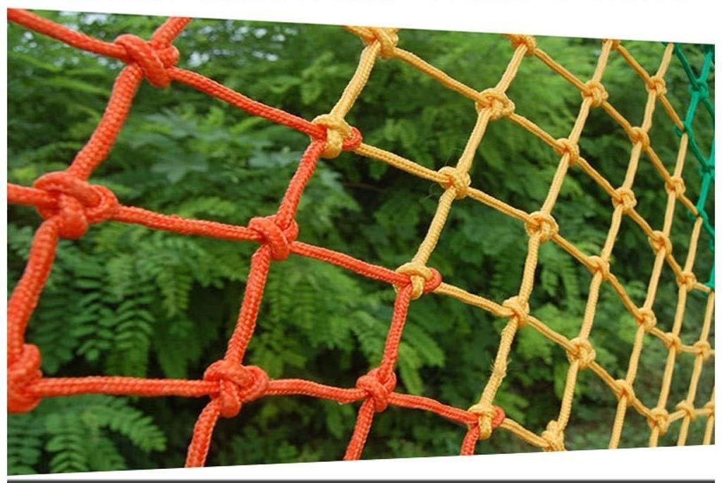- ANquanwang Couleur Corde Corde Net escaliers Balcon Prougeection Filet de Jeux pour Enfants Aire de sécurité Filet escaliers Anti-Chute Filet en Nylon Filet décoration Net 23m