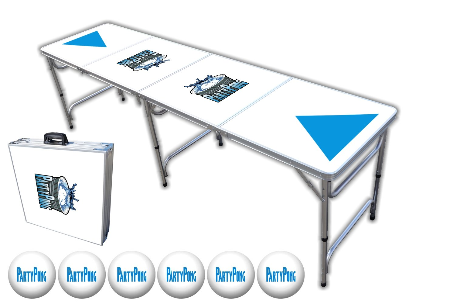 8-Foot Beer Pong Table - Party Pong Professional Edition by PartyPongTables.com