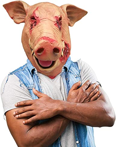 Pig Nose Funny Rubber Holloween Party Props Animal Mask Costume Accessories MA