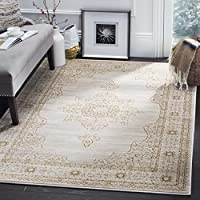 Safavieh Serenity Collection SER210A Cream and Gold Area Rug (8 x 10)