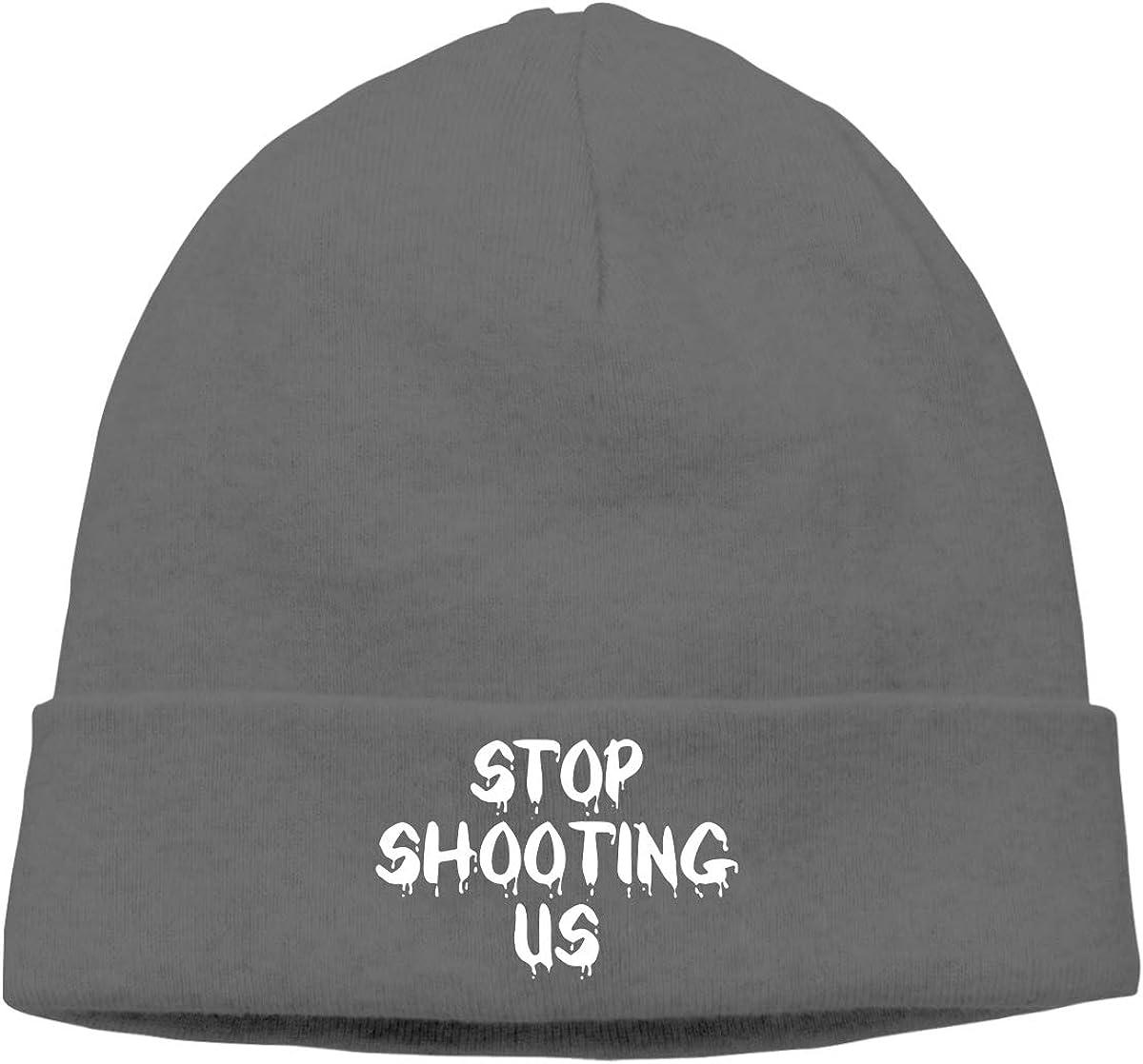 09/&JGJG Stop Shooting Us Unisex Beanie Cap Outdoor Newsboy Hat