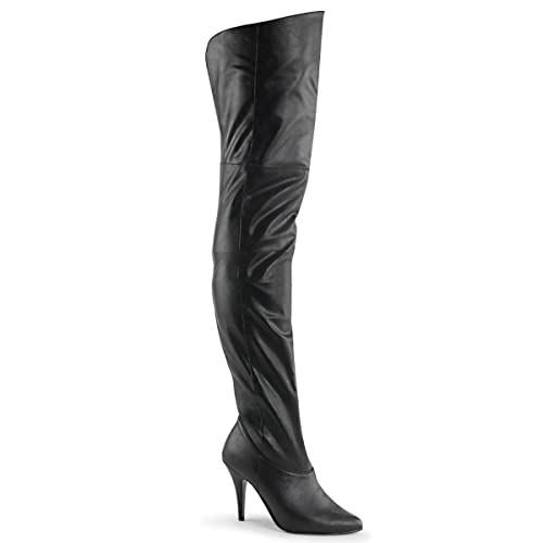 917d8b9abcb Pleaser Legend-8868 - sexy leather overknee-boots high heels sizes 3-13