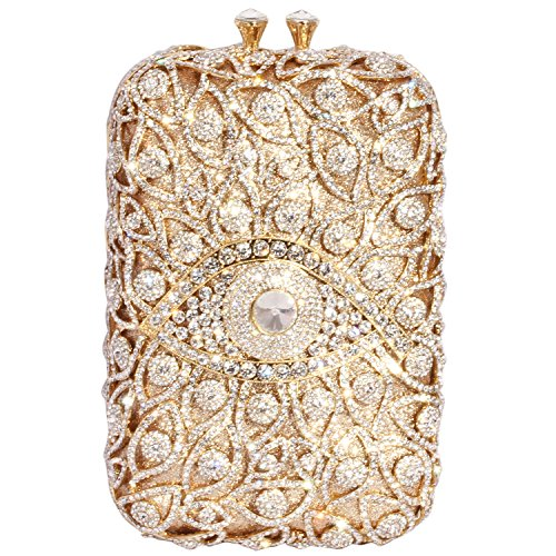 Gold Cylindrical Crystal Shape Bags Women Digabi Silver Clutch Evening FqAv6PcPw