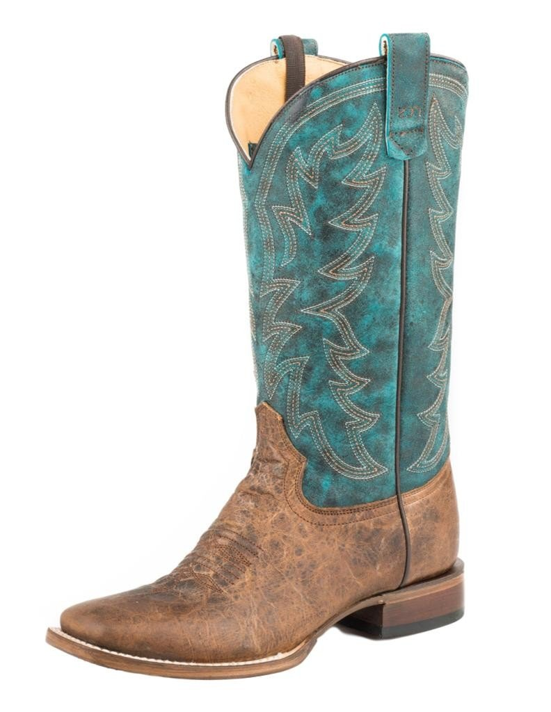 Roper Ladies Sidewinder Conceal Carry Boots B0777SLJHR 8.5 B(M) US|Brown/Blue