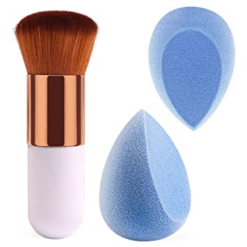 Beauty & Health Cosmetic Puff 100% New Makeup Tools Flower Silicone Sponge Makeup Puff With Black Handle For Liquid Foundation Bb Cream Beauty Essentials Attractive And Durable